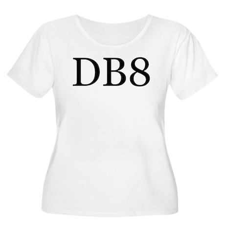 DB8 Women's Plus Size Scoop Neck T-Shirt