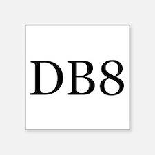 """DB8 Square Sticker 3"""" x 3"""""""