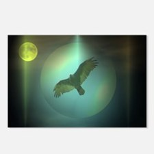moon and thw buzzard Postcards (Package of 8)
