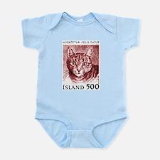 Iceland 1982 Domestic Cat Postage Stamp Infant Bod