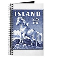 Iceland 1958 Icelandic Horse Postage Stamp Journal