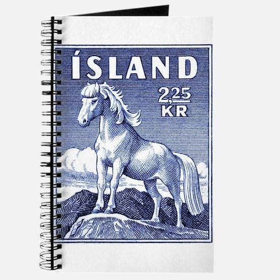 Iceland 1958 Icelandic Horse Postage Stamp Journal