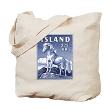 Iceland 1958 Icelandic Horse Postage Stamp Tote Ba