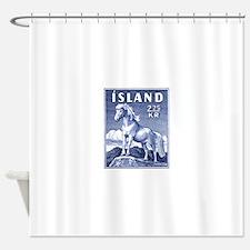 Iceland 1958 Icelandic Horse Postage Stamp Shower
