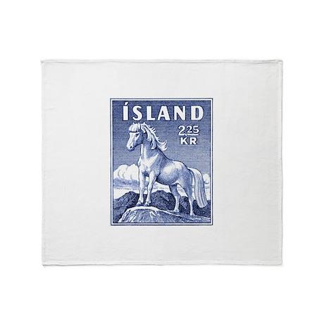 Iceland 1958 Icelandic Horse Postage Stamp Stadiu
