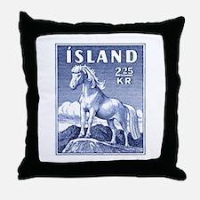 Iceland 1958 Icelandic Horse Postage Stamp Throw P