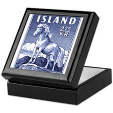 Iceland 1958 Icelandic Horse Postage Stamp Keepsak
