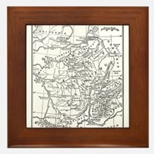 gaulandsurrounding(dog49).jpg Framed Tile