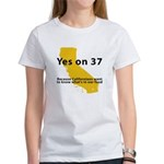 Yes on 37 - Women's T-Shirt