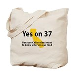 Yes on 37 - Tote Bag