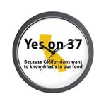 Yes on 37 - Wall Clock