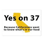 Yes on 37 - Postcards (Package of 8)