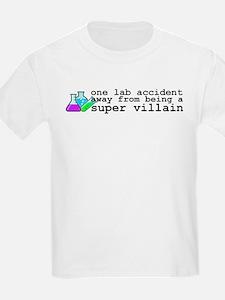 Lab Accident Super Villain T-Shirt