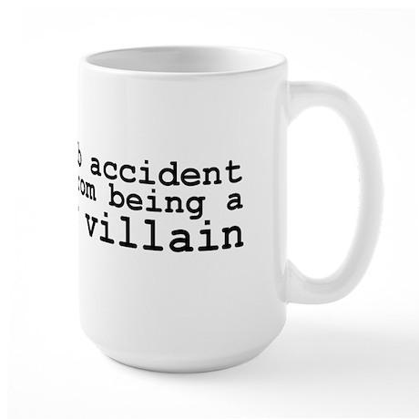 Lab Accident Super Villain Large Mug