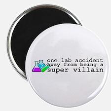 """Lab Accident Super Villain 2.25"""" Magnet (10 p"""