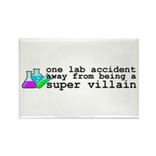 Lab Accident Super Villain Rectangle Magnet