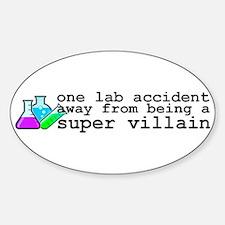 Lab Accident Super Villain Decal