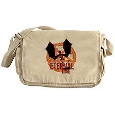 Eternal Edge-Skate Skel Messenger Bag