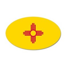 New Mexico flag Wall Decal