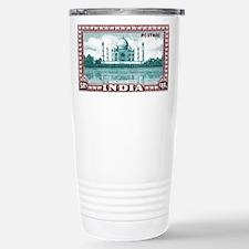 1940 India Taj Mahal Postage Stamp Stainless Steel