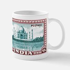 1940 India Taj Mahal Postage Stamp Mug