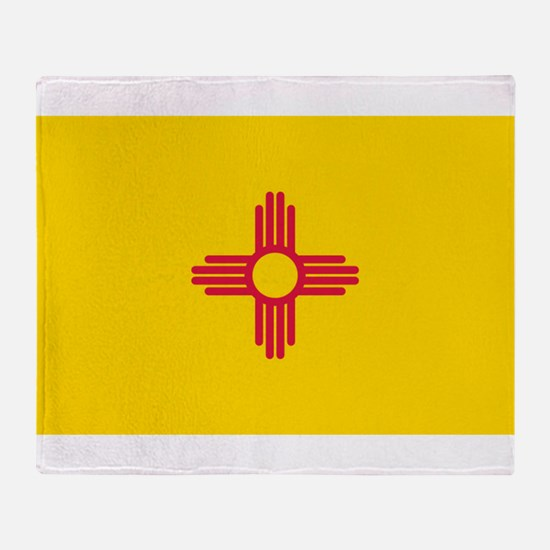New Mexico flag Throw Blanket