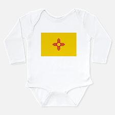 New Mexico flag Long Sleeve Infant Bodysuit