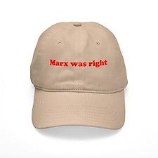 Marx was right Baseball Cap