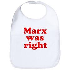 Marx was right #2 Bib