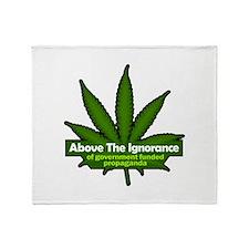 "Above the Ignorance 50""x60"" Blanket"