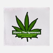 "Above the Ignorance 50""x60"" Blanket"