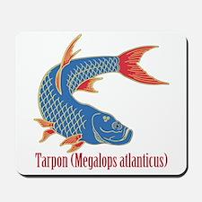 Tarpon (Megalops atlanticus) Mousepad