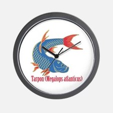 Tarpon (Megalops atlanticus) Wall Clock
