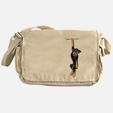 Clingy Rottie Messenger Bag