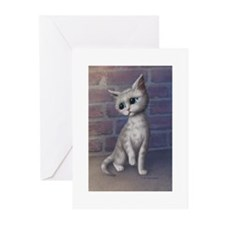 Sad Kitty Greeting Cards (Pk of 10)