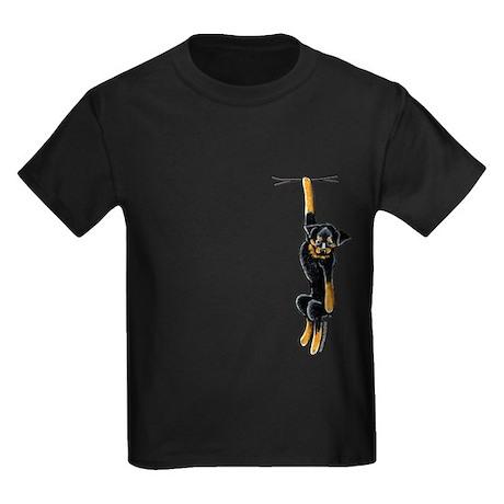 Clingy Rottie Kids Dark T-Shirt