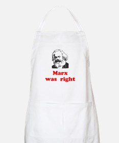 Marx was right #3 Apron