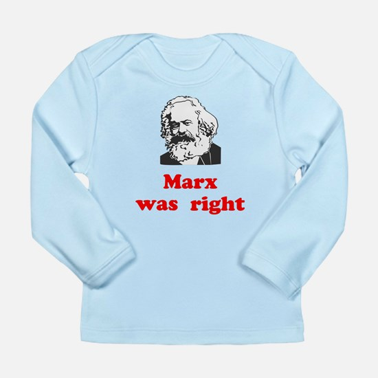 Marx was right #3 Long Sleeve Infant T-Shirt