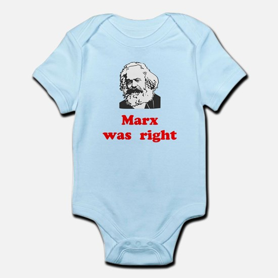 Marx was right #3 Infant Bodysuit