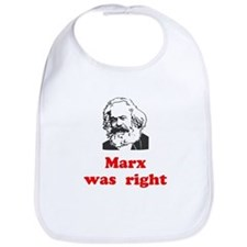Marx was right #3 Bib