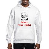 Communism Hooded Sweatshirts