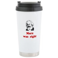 Marx was right #3 Travel Mug