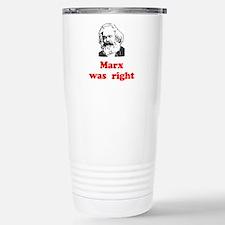 Marx was right #3 Travel Mug