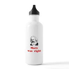 Marx was right #3 Water Bottle
