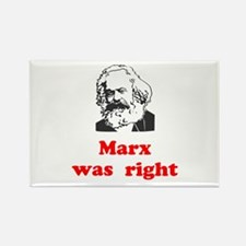 Marx was right #3 Rectangle Magnet (10 pack)