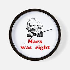 Marx was right #3 Wall Clock
