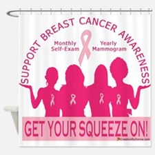 Get Your Squeeze On Shower Curtain