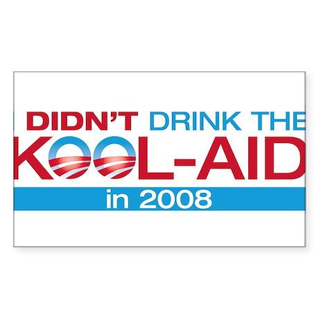 I Didn't Drink the Kool-Aid Oval Sticker
