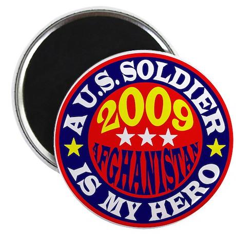 2009 Afghanistan Soldier Magnet