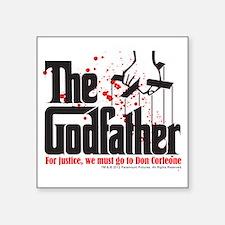 "The Godfather Square Sticker 3"" x 3"""